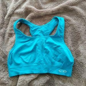 C9 blue sports bra Medium
